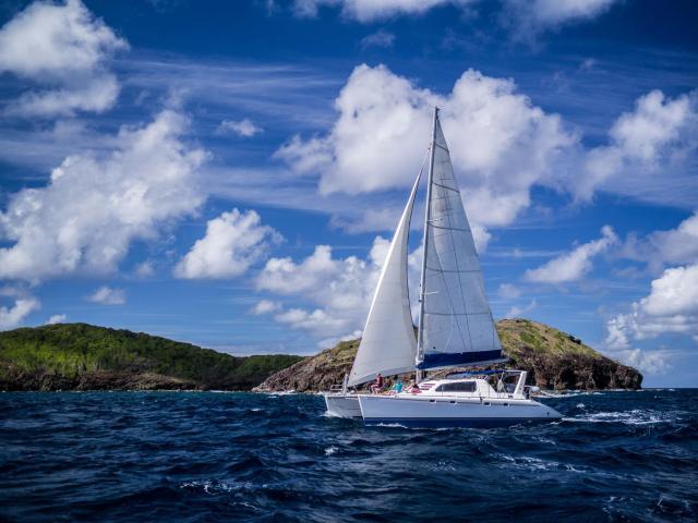 sailing st grenedine